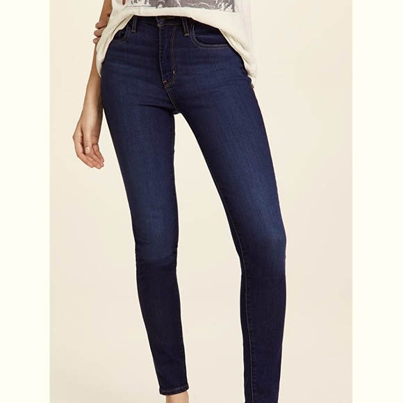 Levi's 721 Sculpt Hypersoft High Rise Skinny Jeans